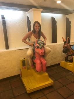 CB Alex on a horse